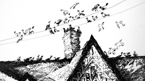 Горящая сова