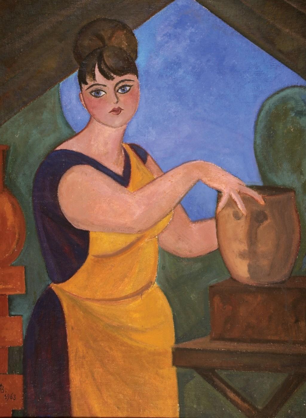 Портрет скульптора Татьяны Соколовой