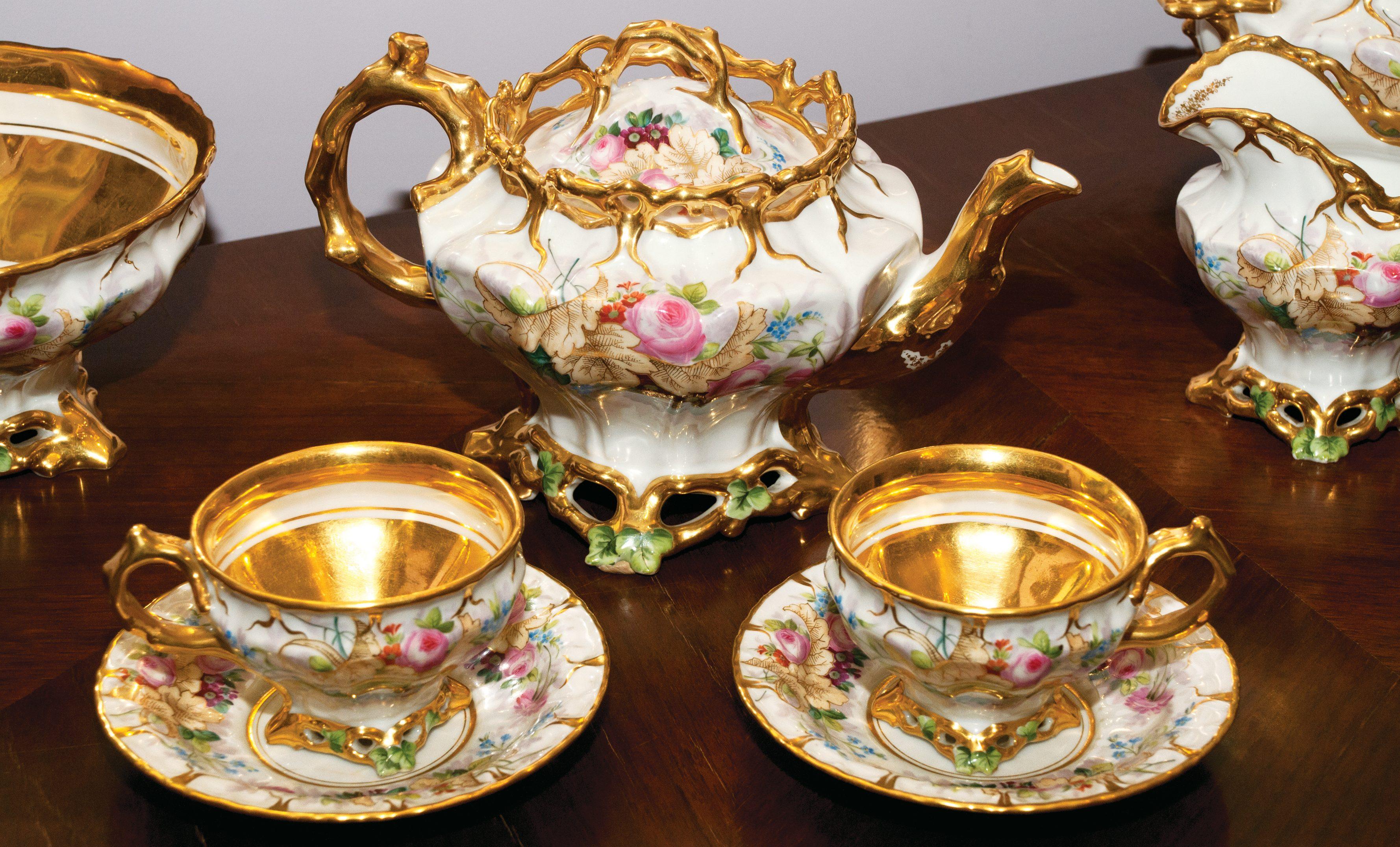 «Извольте откушать чаю»